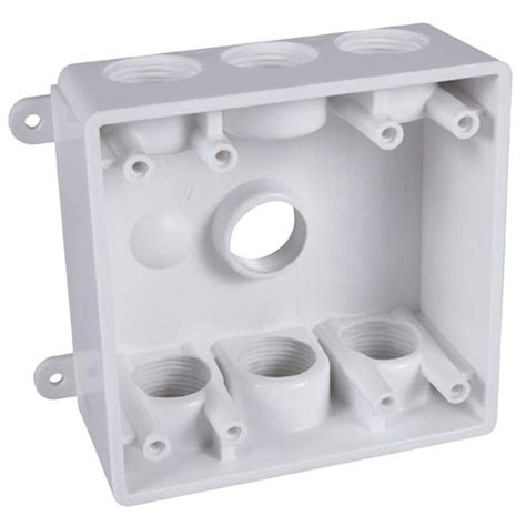 Junction Box Plexo Weatherproof 155x155x74 Legrand legrand wiremold 700 series outlet box bw35 the home depot