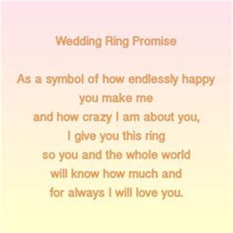 Wedding Ceremony Exchange Of Rings by Ring Warming Ceremony Wedding Program Alternative