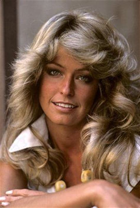 farrah fawcett hair color farrah fawcett in her wella balsam shoo days