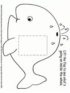 Jonah And The Whale Whales On Pinterest sketch template