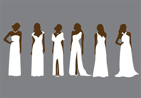bridesmaid fashion vector   vector art