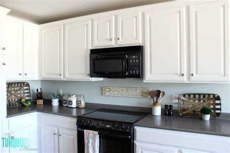 Sea Salt Paint Color Kitchen sea salt kitchen the turquoise home