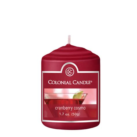 Colonial Candle Cranberry Cosmo 1 7 Oz Votive Colonial Candle