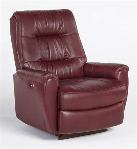 Recliners Petite Felicia Power Space Saver Recliner With