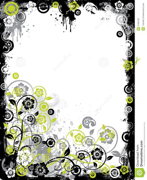 grunge flower frame royalty free stock image image 3187236 grunge floral border vector royalty free stock photo image 2183445