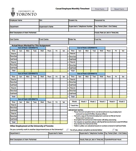 Numbers Timesheet Template by Timesheet Spreadsheet Ms Excel Volunteer Timesheet