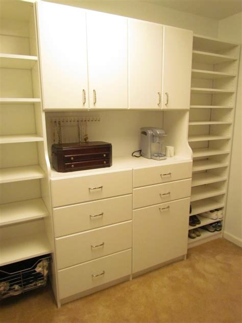 Atlanta Closet & Storage Solutions Slab Fronts