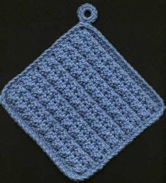 knit potholder pattern thick potholders crochet knitting and such