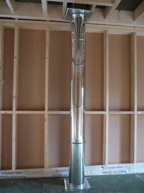 conduit de cheminee inox conduits de chemin e inox et sortie de toit poujoulat