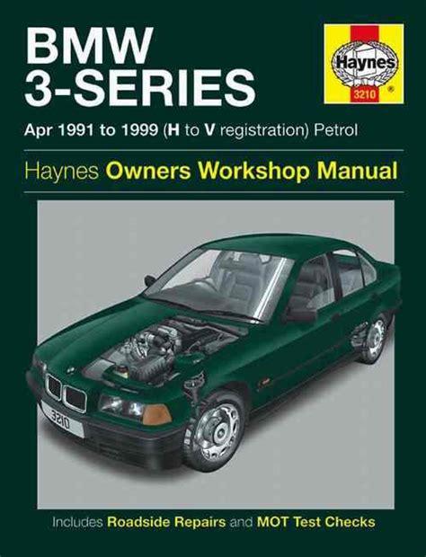 bmw  series petrol   haynes owners service