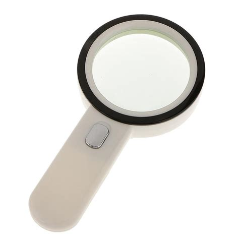 led lighted magnifying l 80mm 12 led lighted magnifier 10x book magnifying glass