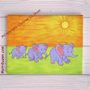 tableaux pour chambre d enfant singe 233 l 233 phants girafes
