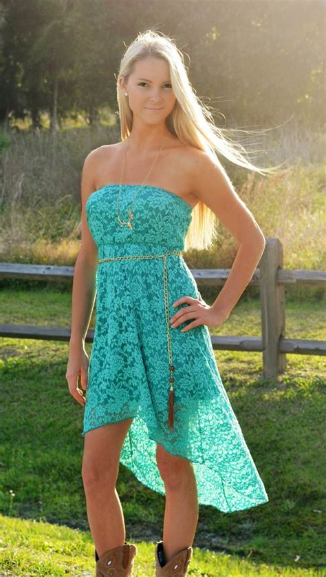 country dresses with boots teal western style lace dress step out