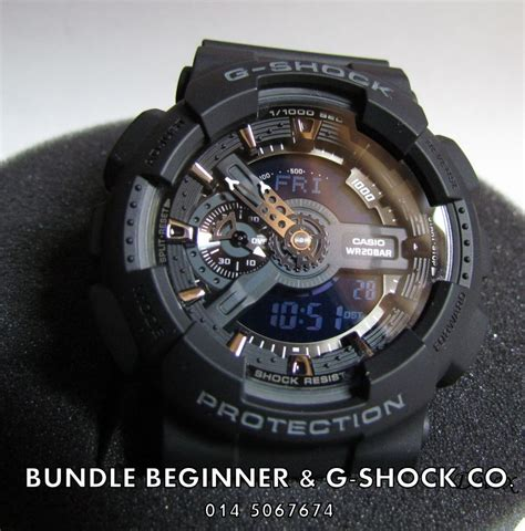 G Shock Ga 110 bundle beginner ga 110 1b