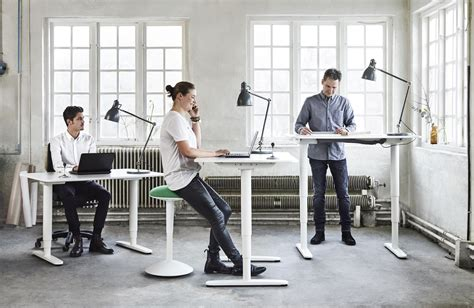 Office Desk You Can Stand At Business Furniture For Hospitality Retail And Offices Ikea