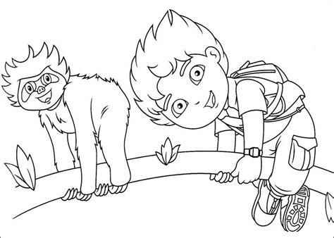 Diego Coloring Page Free Printable Diego Coloring Pages For Kids by Diego Coloring Page