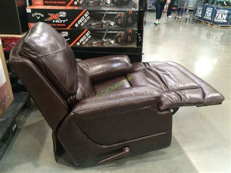 woodworth easton leather recliner costco costco recliner 399 woodworth easton leather rocker