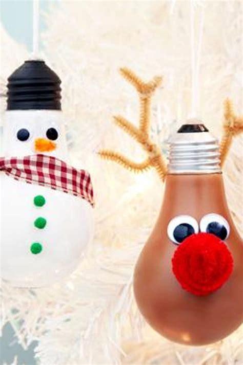 light bulb ornaments best 25 lightbulb ornaments ideas on