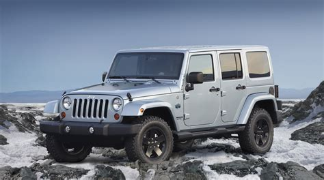 jeep arctic jeep previews wrangler and liberty arctic special editions