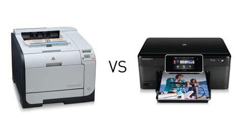 do you prefer laser or inkjet printers lifehacker australia