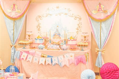 themes for toddler girl birthday party charming princess themed baby girl birthday party