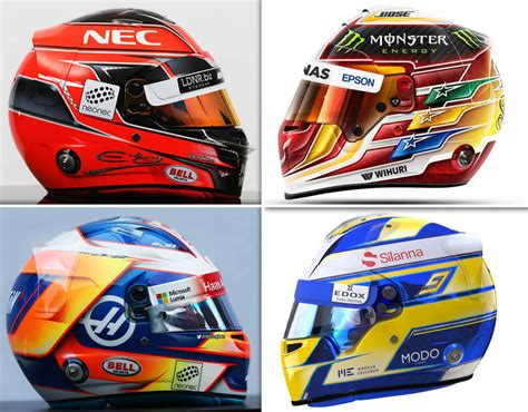 f1 helmet design rules f1 2017 driver helmets every new design ahead of the