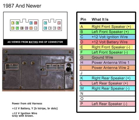 2001 toyota radio wiring diagram wiring diagram manual