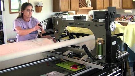 Gammill Arm Quilting Machine by Gammill Vision 26 10 12 Pivot Access Table Arm