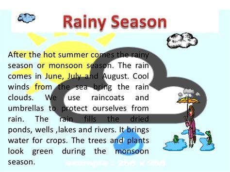 rainy season quotes like success