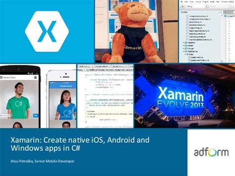 xamarin android create android app one activity to xamarin create native ios android and windows apps in c