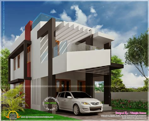 Kerala Home Design Below 1500 Sq Feet house elevation with after completion photo kerala home