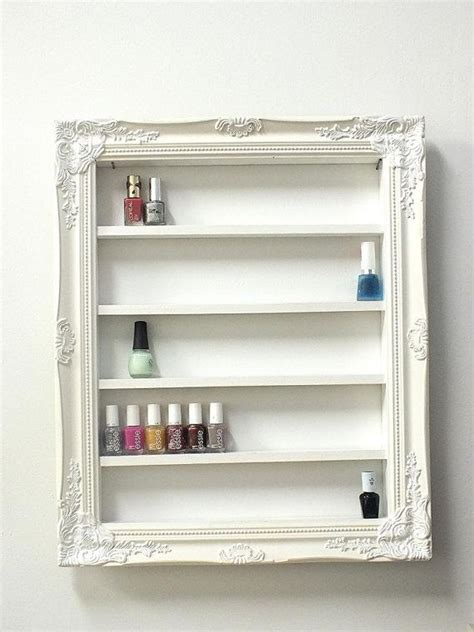 regal nagellack baroque nail frame display by daintycreations on