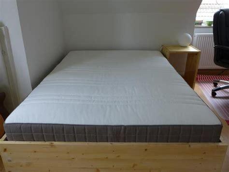 ikea umtausch matratze matratze ikea h 246 vag 200x140 in m 252 nchen matratzen rost