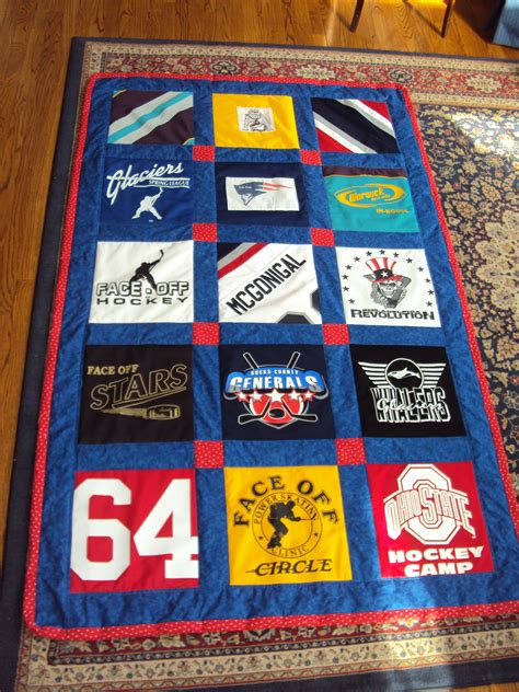 Quilts Made From Sports Jerseys by Products Suzy Qz Creative