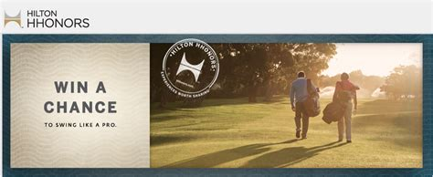 Hilton Hhonors Sweepstakes - hilton hhonors 2012 charitable golf series final sweepstakes