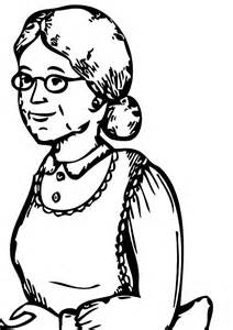 My Grandmother Coloring Pages Sketch Of sketch template