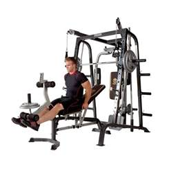 marcy deluxe elite smith cage workout machine
