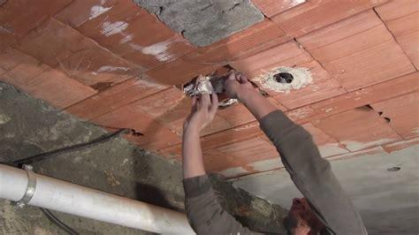 intonacare il soffitto come intonacare un soffitto
