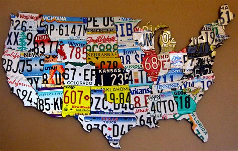 license plate map out of state vehicles s s auto registration services