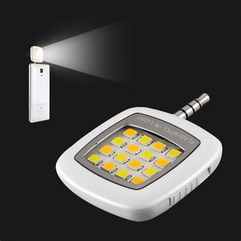 Lu Led Flash Light Mobil mobile phone led flash light adjustable fill light for