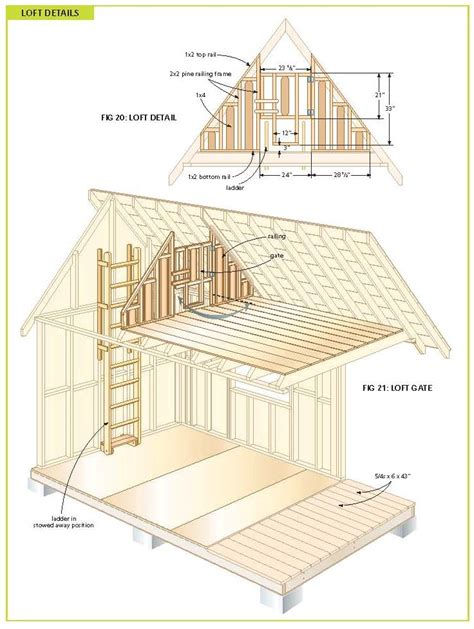 free cabin plans with loft free wood cabin plans free step by step shed plans