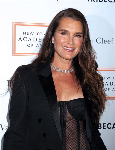 brooke shields at 2017 tribeca ball in new york 04 03 2017