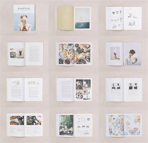 pinterest publication layout a subscription to kinfolk magazine graphic design