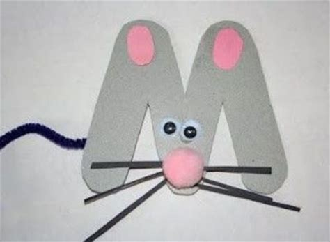 mouse craft m is for mouse craft preschool items juxtapost