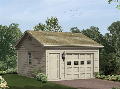 1 car garage plans bailey hill one car garage plan 063d 6011 house plans