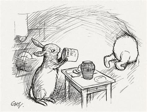 E H Shepard Sketches by シンプルなのにジーンと来る プーさんだからこそ言える14の名言 笑うメディア クレイジー