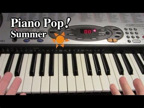 tutorial piano summertime summer piano lesson joe hisaishi kikujiro easy piano
