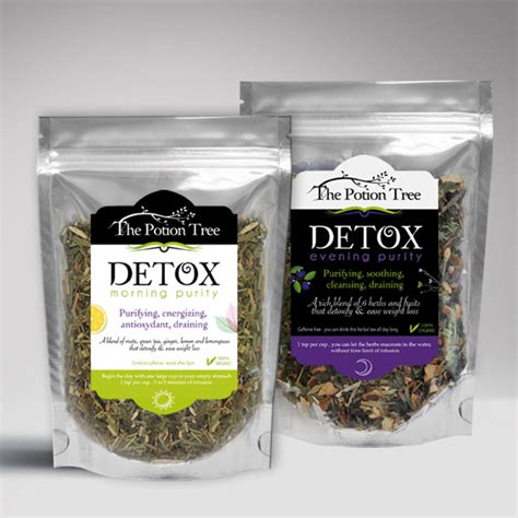 Detox Shoo Review by Detox Tea Duo Morning And Evening Purity 100 Organic