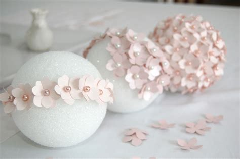 How To Make Paper Flower Balls For Wedding - the yellow brick lifestyle pomander flower