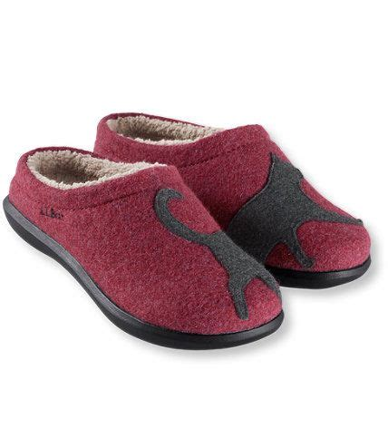 ll bean house slippers daybreak scuffs motif slippers free shipping at l l bean cat fashion pinterest